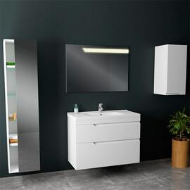 Мебель для ванной Alvaro Banos Armonia maximo 100 белый лак купить за 17000 руб.