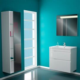 Мебель для ванной Banos Armonia maximo 80 белый лак купить за 15350 руб.