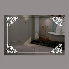 Зеркало с подсветкой и сенсорной кнопкой La Tezza LT-U11070-S купить за 13000 руб.