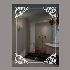 Зеркало с подсветкой и сенсорной кнопкой La Tezza LT-U6080-S купить за 10000 руб.