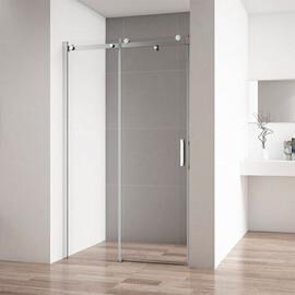 Душевая дверь Cezares STYLUS-SOFT-BF-1-140-C-Cr прозрачное стекло купить за 40470 руб.