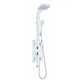 Стойка душевая Gllon SL086W белая купить за 23423 руб.