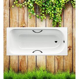 Стальная ванна Kaldewei Saniform Plus Star 170x70 с отверстиями под ручки купить за 28570 руб.