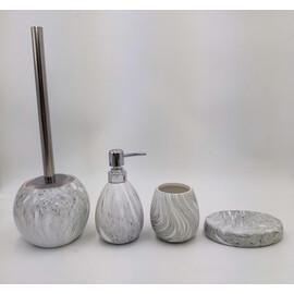 Керамический набор для ванной под камень GID Asphalt 50 купить за 4700 руб.