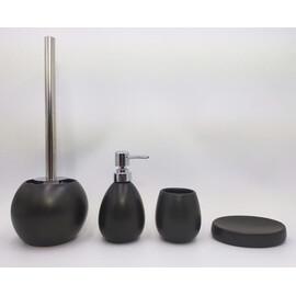 Керамический набор для ванной чёрный матовый GID B-matt 50 купить за 4700 руб.