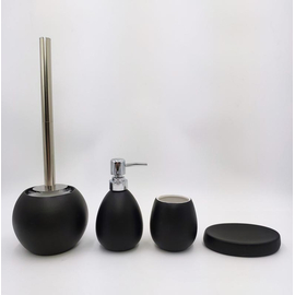 Керамический набор для ванной чёрный GID BL-spray 50 купить за 4700 руб.