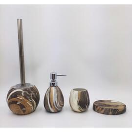 Керамический набор для ванной под камень GID Mokko 50 купить за 4700 руб.