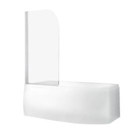 Шторка для ванны Roth SCREEN PRO 810x1400 white/transparent/4mm купить за 11475 руб.
