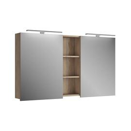 Зеркальный шкаф Diborg Lande 125, дуб купить за 12280 руб.