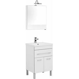 Мебель для ванной Aquanet Верона 58 белый (напольный 1 ящик 2 дверцы) купить за 27432 руб.