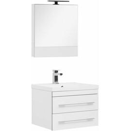 Мебель для ванной Aquanet Верона 58 белый (подвесной 2 ящика) купить за 24757 руб.
