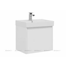 Тумба с раковиной Aquanet Nova Lite 60 белый (1 ящик + 1 внутренний) купить за 15890 руб.