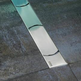 Душевой канал Ravak OZ Ravak Chrome OZ 1050 - нержавеющая сталь купить за 36708 руб.