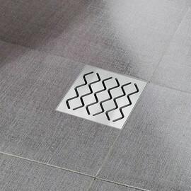 Пластиковый душевой канал Ravak SN501 - решетка нержавейка купить за 3496 руб.