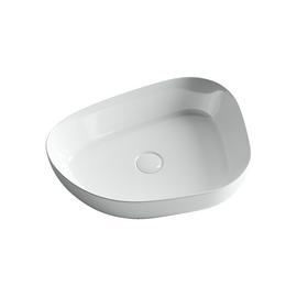 Умывальник чаша накладная ассиметричной формы Ceramica Nova Element 550x400x140 мм купить за 9500 руб.