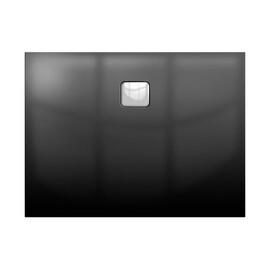 Акриловый душевой поддон Riho Basel 414 100x90 черный глянец, накладка хром DC241600000000S купить за 55200 руб.