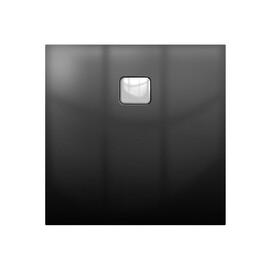 Акриловый душевой поддон Riho Basel 412 90x90 черный глянец, накладка хром DC221600000000S купить за 53176 руб.