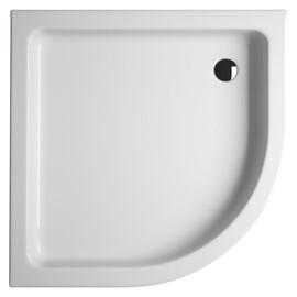 Акриловый душевой поддон Riho 210 90x90 белый 1/4 круга R550 + панель DA1900500000000 купить за 24067 руб.