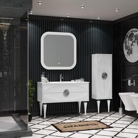 Мебель для ванной Opadiris Ибица 120, цвет белый/хром купить за 120330 руб.