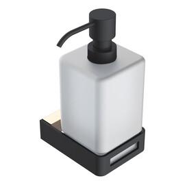 Диспенсер для жидкого мыла Gold & Black Boheme Q купить за 5315 руб.