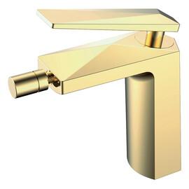 Смеситель для биде Boheme Venturo золото купить за 17548 руб.