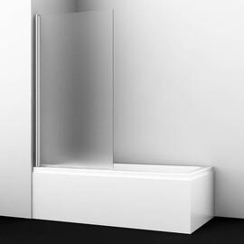 Стеклянная шторка на ванну WasserKRAFT Berkel 48P01-80L Matt glass купить за 12835 руб.