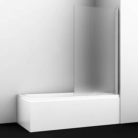 Стеклянная шторка на ванну WasserKRAFT Berkel 48P01-80R Matt glass купить за 12835 руб.