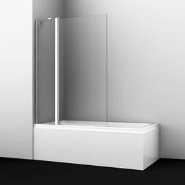 Стеклянная шторка на ванну WasserKRAFT Berkel 48P02-110 Fixed купить за 18190 руб.