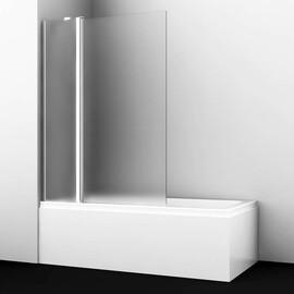Стеклянная шторка на ванну WasserKRAFT Berkel 48P02-110L Matt glass Fixed купить за 16821 руб.