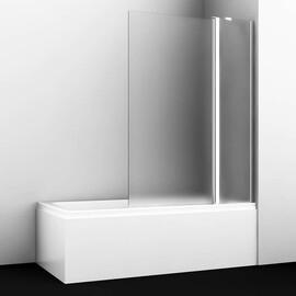 Стеклянная шторка на ванну WasserKRAFT Berkel 48P02-110R Matt glass Fixed купить за 19790 руб.