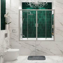 Стеклянная шторка на ванну WasserKRAFT Lippe 45S02-170 купить за 25290 руб.