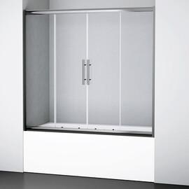 Стеклянная шторка на ванну WasserKRAFT Amper 29S02-170 купить за 22990 руб.