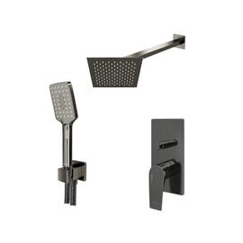 Встраиваемый комплект для душа с верхней душевой насадкой и лейкой WasserKRAFT А84202 купить за 43260 руб.