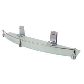Полка стеклянная с бортиком WasserKRAFT Lopau K-6044 купить за 2990 руб.