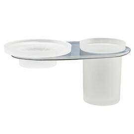 Держатель стакана и мыльницы WasserKRAFT Kammel K-8326 купить за 2150 руб.