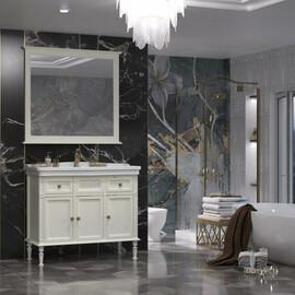 Мебель для ванной Opadiris Кантара 105, цвет слоновая кость купить за 66276 руб.