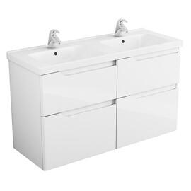 Мебель для ванной Alvaro Banos Armonia maximo 125 белый лак, 4 ящика купить за 28750 руб.