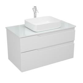Мебель для ванной Alvaro Banos Armonia Cristal 100 белый лак купить за 25000 руб.