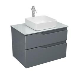 Мебель для ванной Alvaro Banos Armonia Cristal 80 серый лак купить за 23500 руб.