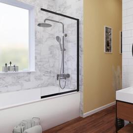 Шторка для ванны WasserKRAFT Dill 61S02-100 WasserSchutz купить за 25990 руб.