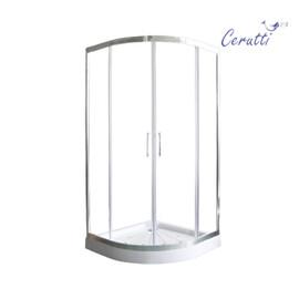 Душевой уголок Ceruttispa VIVA 90 без поддона купить за 20700 руб.