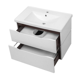 """Мебель для ванной Ceruttispa тумба Сицилия 60 подвесная с умывальником """"Кантэ 60"""" купить за 22600 руб."""