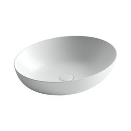 Умывальник чаша накладная овальная Ceramica Nova Element 520*395*130мм цвет белый матовый купить за 15590 руб.