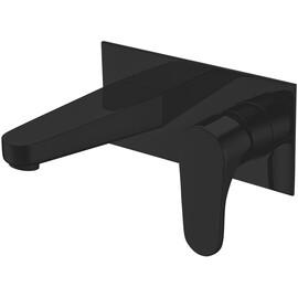 Смеситель для раковины ABBER Eleganz AF8312B, черный купить за 10532 руб.