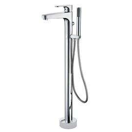 Смеситель для ванны ABBER Eleganz AF8315, хром купить за 25200 руб.